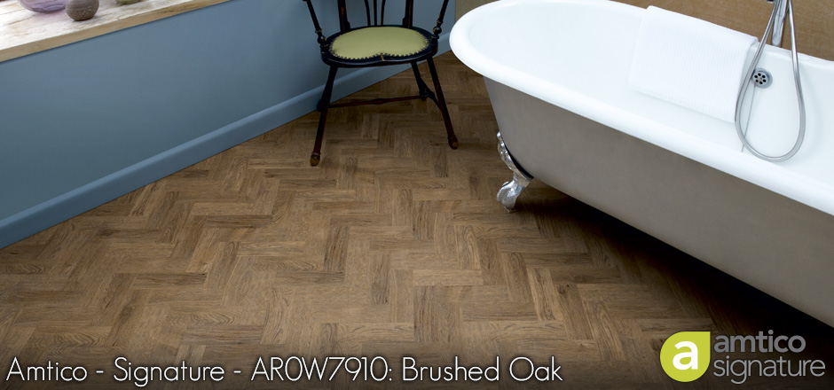 Amtico - Signature - AR0W7910: Brushed Oak