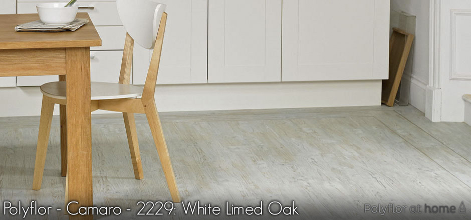 Polyflor - Camaro - 2229: White Limed Oak