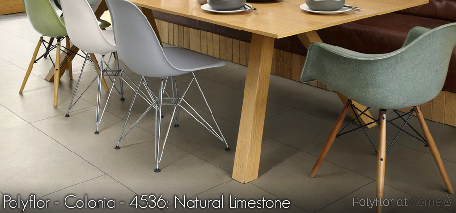 Polyflor - Colonia - 4536: Natural Limestone